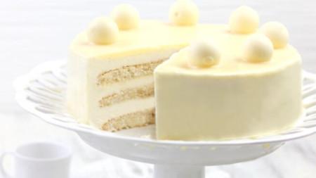 Фотография на саморъчно направена торта от Ева Тонева.