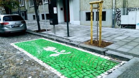 В Столичната община са обособени специални места за паркиране на електромобили