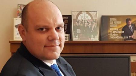 Мануел Корчек, извънреден и пълномощен посланик на Република Словакия