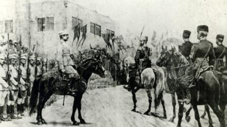 L'entrée d'Alexandre I à Plovdiv, le 10 septembre 1885