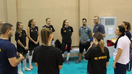 ВК Марица Пловдив започна подготовка за новия сезон