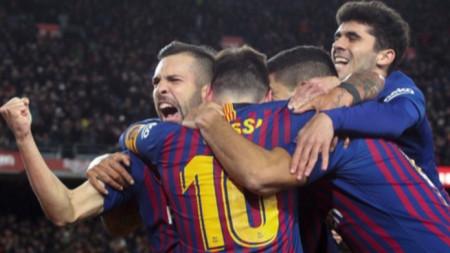 Барселона и Реал Бетис са полуфиналисти за Купата в Испания