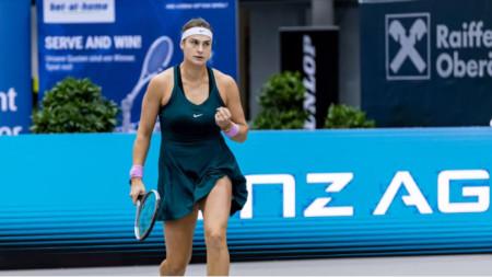 Арина Сабаленка е на осминафинал в Австрия.