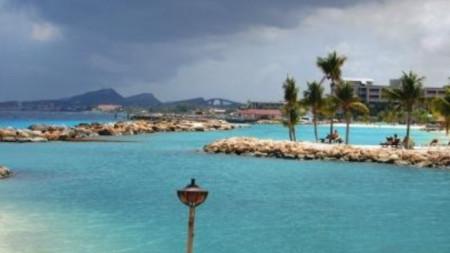 Изглед от остров Кюрасао.