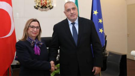 Ruhsar Pekcan und Bojko Borissow