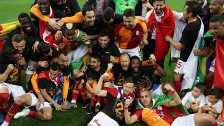 Галатасарай спечели титлата на Турция