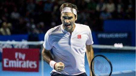 Роджър Федерер триумфира за девети път в родния си град.