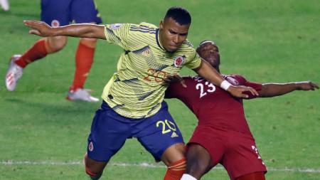 Колумбия е първия четвъртфиналист на Копа Америка след успеха над Катар
