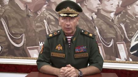 Виктор Золотов отправи нападките си във видеозапис, качен в сайта на Национална гвардия на Русия.