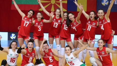 Национален отбор по волейбол за девойки до 16 години