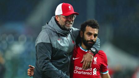 Салах вкара третия гол в Бергамо преди 3 седмици.