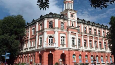 Ivan Radoev theatre in Pleven