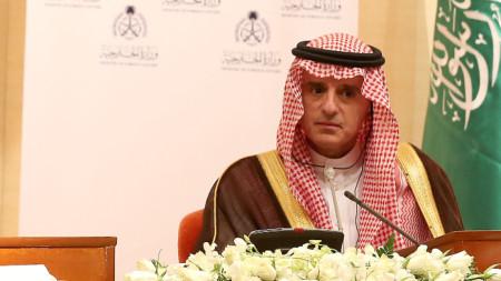 Министърът на външните работи на Саудитска Арабия Адел Джубейр.
