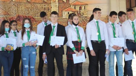 Димитровденското математическо състезание - награди