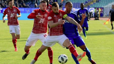 ЦСКА-София победи чешкия Прибрам с 3:0