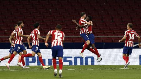 Атлетико ще играе пред зрители за купата.