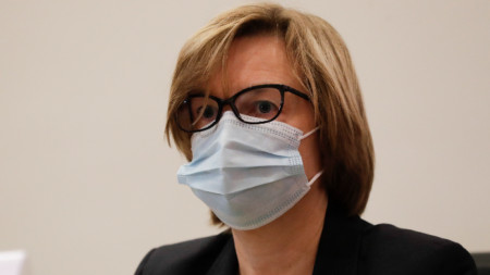 Изпълнителният директор на EUROPOL и бивш шеф на белгийската полиция Катрин Де Боле.