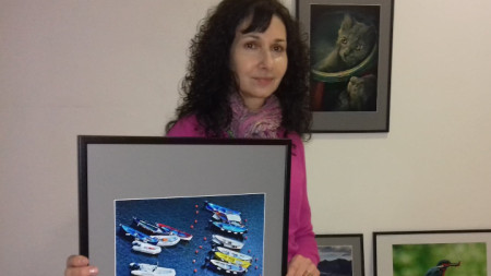 Антония Костова показва своите италиански лодки