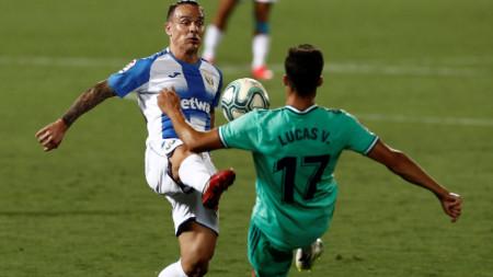 Леганес прекъсна победната серия на шампиона Реал (М)