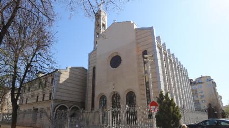"""Катедралата """"Свети Йосиф"""" в София."""