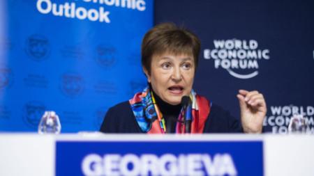 Кристалина Георгиева, управляващ директор на МВФ