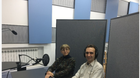 В. Генов и проф. Д. Кюркчиева