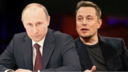 Владимир Путин и Илон Мъск