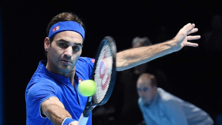 Роджър Федерер спечели за малко повече от час.