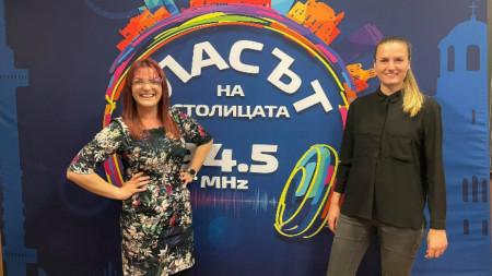 """Екатерина Петрова и Ива Тодорова от Фондация """"Таратанци"""""""
