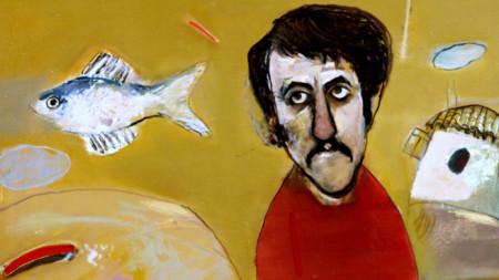 Портрет на Велко Кънев, 1987 г. Автор: Джемал Емурлов