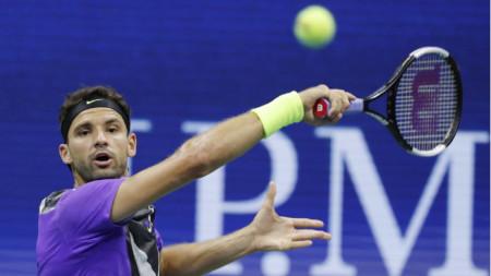 Григор Димитров отпадна на полуфинала в Ню Йорк.