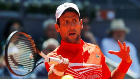 Джокович спечели турннира загубен сет в Мадрид.