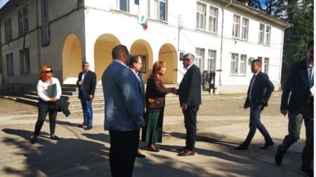 Премиерът Стефан Янев в Поповица
