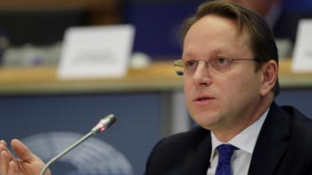 EU Commissioner for Neighborhood and Enlargement Olivér Várhelyi