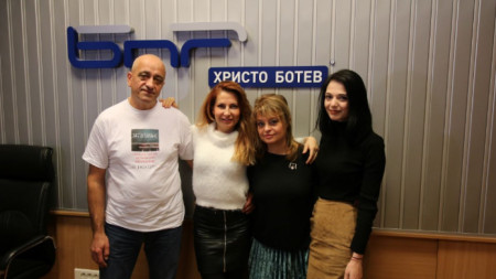 Любен Козаров, Ива Дойчинова, Мария Касимова и Темз Арабаджиева
