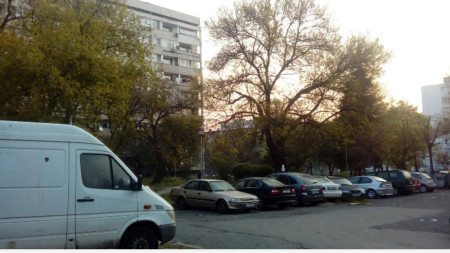 Паркинг в ж.к.