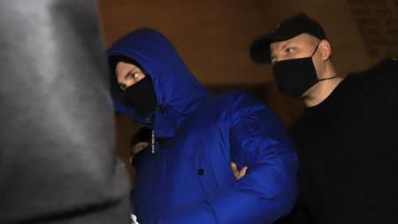 Подсъдимият Кристиан Николов е воден в Софийски градски съд за делото срещу него през февруари.