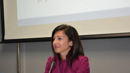 Заместник-министърът на труда и социалната политика Надя Клисурска