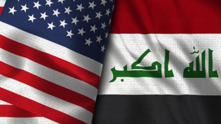Флагове на САЩ и Ирак