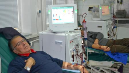 Пациенти на хемодиализа