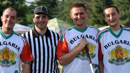 Калоян Петров (втори отдясно наляво)