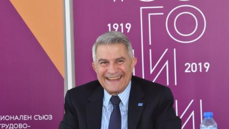Стилиян Баласопулов - председател на Националния съюз на на трудово-производителните кооперации.