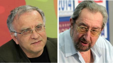 Zwetosar Tomow (l.) und Julij Pawlow (r.)