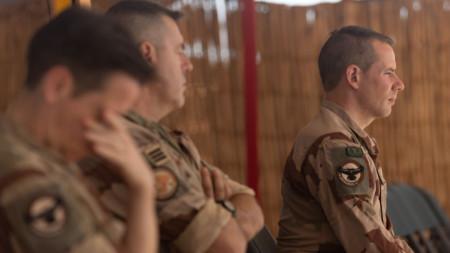 Френски войници в Мали