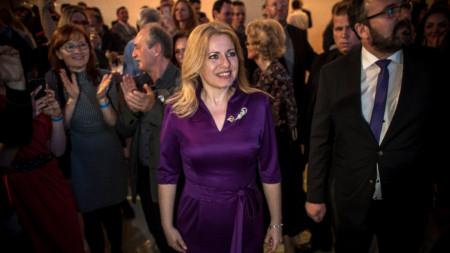 45-годишната Зузана Чапутова ще бъде първата жена - президент на Словакия