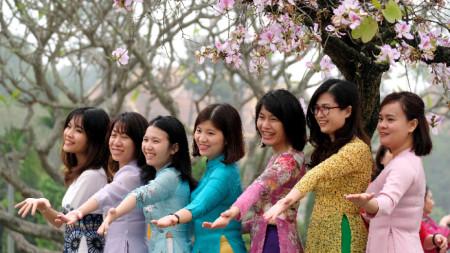 Курсовете привличат най-вече младите виетнамки.