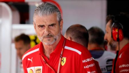 Маурицио Аривабене може да напусне директорския пост на Ферари.