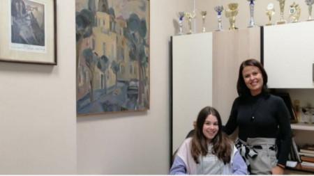 Гергана Карапанова и Мая Паскова