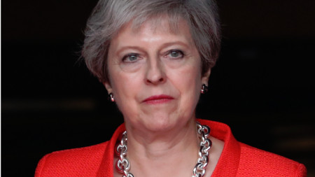 Премиерът на Великобритания Тереза Мей