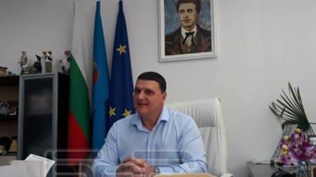 Кметът на Оряхово Росен Добрев